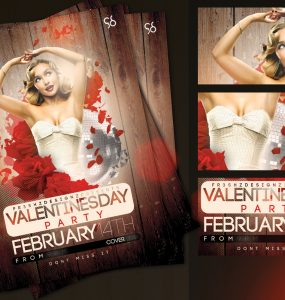 Valentines Day Flyer Templates Free PSD Valentines, unique, Template, Stylish, Rose, Quality, Print, Poster, Party, Love, invitation, Graphic, flyer template, Flyer, Flower, Disco, Classy,