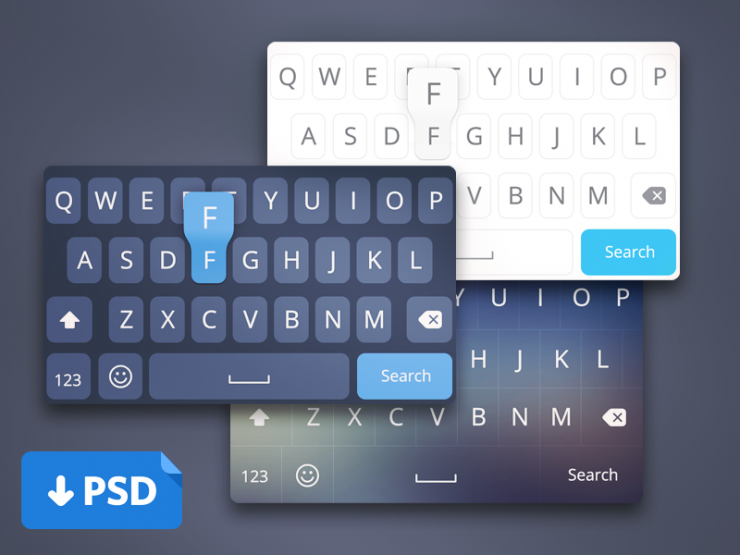 iOS8 Keyboard Layout UI PSD White Web Design Elements User Interface ui set ui kit UI elements UI Resources Mobile Layout Keyboard Iphone iOS8 iOS Interface GUI Set GUI kit GUI Graphical User Interface Elements Design Resources Design Elements Black Apple