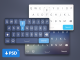 iOS8 Keyboard Layout UI PSD White, Web Design Elements, User Interface, ui set, ui kit, UI elements, UI, Resources, Mobile, Layout, Keyboard, Iphone, iOS8, iOS, Interface, GUI Set, GUI kit, GUI, Graphical User Interface, Elements, Design Resources, Design Elements, Black, Apple,