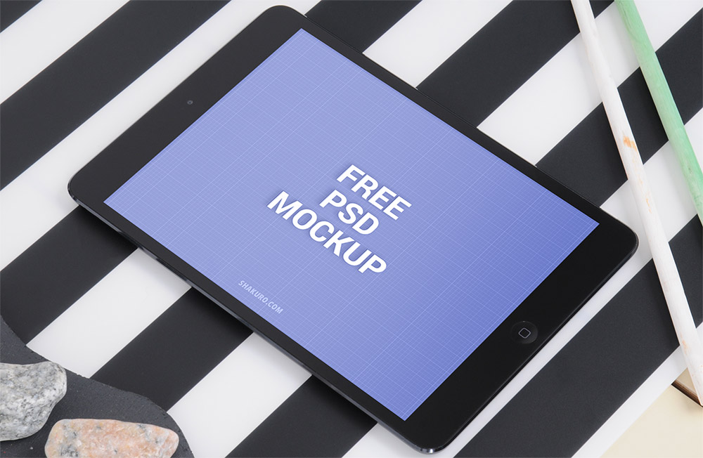 IPad Air Mockup PSD