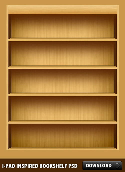 iPad Inspired Bookshelf PSD Wooden, Wood, User Interface, Textured, Psd Templates, PSD Sources, psd resources, PSD images, psd free download, psd free, PSD file, psd download, PSD, Nature, iPad, Interface, GUI, Graphics, Free PSD, download psd, download free psd, Box, Bookshelf, Book,