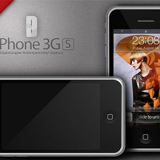 iPhone 3G Mania PSD
