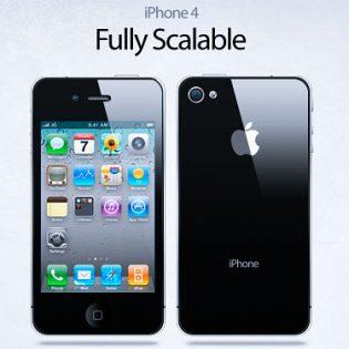 IPhone4 PSD File
