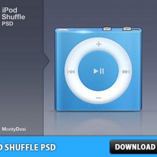 iPod Shuffle PSD