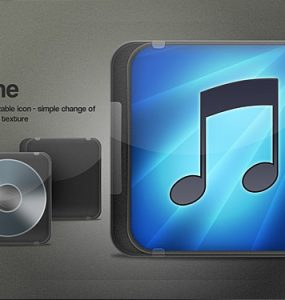 iTunes cover icon PSD Psd Templates, PSD Sources, psd resources, PSD images, psd free download, psd free, PSD file, psd download, PSD, Player, Objects, Music node, Music, Layered PSDs, iTunes, Icons, Icon, Glossy, Glassy, Free PSD, download psd, download free psd, Cover, CD Cover, CD, Application, Apple, App,