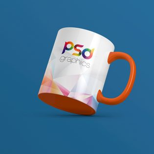 Coffee Mug Free PSD Mockup