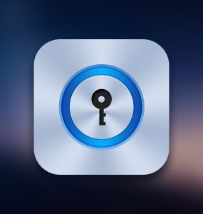 Lock App Icon Free PSD