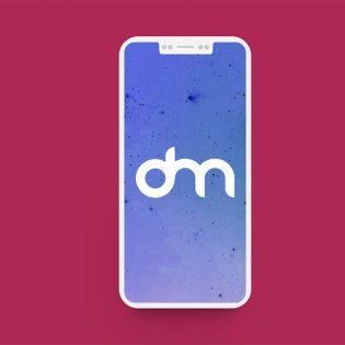 IPhone 8 Flat Mockup Free PSD