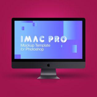 iMac Pro 2017 Mockup Free PSD