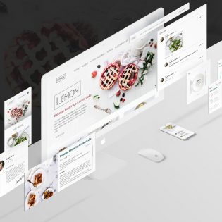 Food and Restaurant UI Kit Free PSD