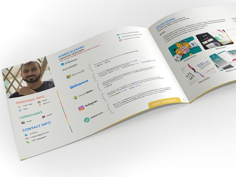 Creative Designer Resume PSD Templates