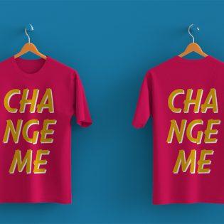 Hanging T-Shirt Mockup Free PSD