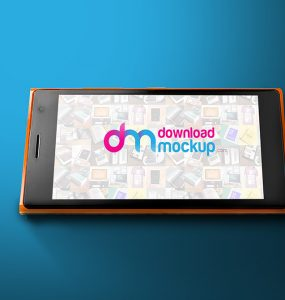 Windows Phone Mockup Free PSD