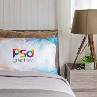 Pillow Mockup Free PSD