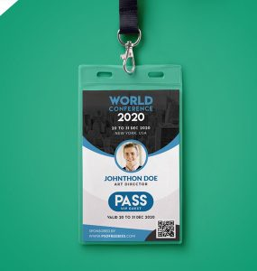 Conference VIP Entry Pass ID Card Template PSD vip pass, v.i.p. pass, talent show, stage pass, staff, seraphimchris, Security, passes, id card template, expo, design expo id, creative id, creative badges, Corporate Stationery, corporate passes, corporate id template, conference passes, conference id, conference badges, badge templates, art expo,