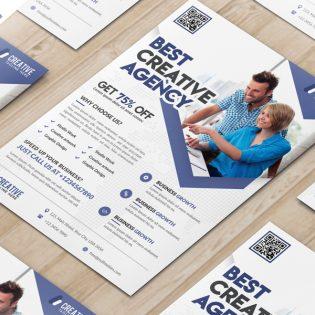 Business Marketing Flyer Free PSD Template