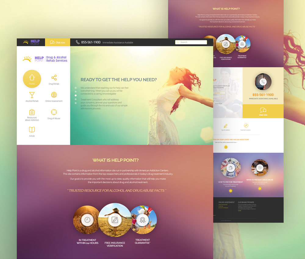 NGO Website Template Free PSD Download - Download PSD