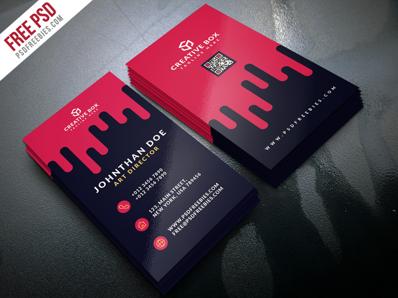 Creative digital agency business card template psd download creative digital agency business card template psd reheart Images