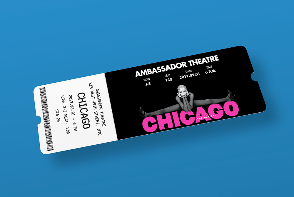 Entry Ticket Mockup Free PSD Download Download PSD – Theatre Ticket Template