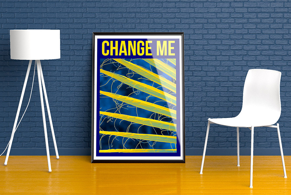 Wall Poster Mockup Free PSD