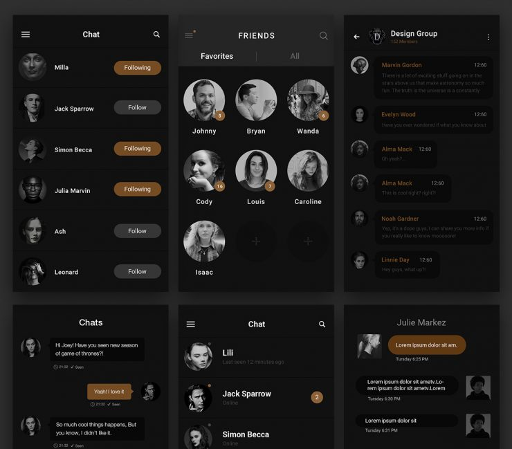 Dark Chat Messenger UI Free PSD www, whatsapp, Website Template, Website Layout, Website, webpage, Web Template, Web Resources, web page, Web Layout, Web Interface, Web Elements, Web Design Elements, Web Design, Web Application, Web, Viber, User Profile, User Interface, user info, User, unique, ui set, ui kit, UI elements, UI, Template, Stylish, Skype, Simple, Resources, Quality, Psd Templates, PSD Sources, psd resources, PSD images, psd free download, psd free, PSD file, psd download, PSD, Photoshop, pack, original, Nimbuzz, new, Modern, mobile chat, Mobile App, Minimal, messenger ui, messenger app, Messenger, Message, Layered PSDs, Layered PSD, Interface, instant message, instant chat, im, GUI Set, GUI kit, GUI, Graphics, Graphical User Interface, friends, Fresh, Freebies, Freebie, Free Resources, Free PSD, free download, Free, FB, Facebook Messenger, Facebook, Elements, download psd, download free psd, Download, detailed, Design Resources, Design Elements, Design, dashboard ui, dashboard design, dashboard, dark ui, Dark, Creative, contact list, Clean, chatting, chat application, chat, Black, application PSD, Application, app psd, App, android app psd, Adobe Photoshop,