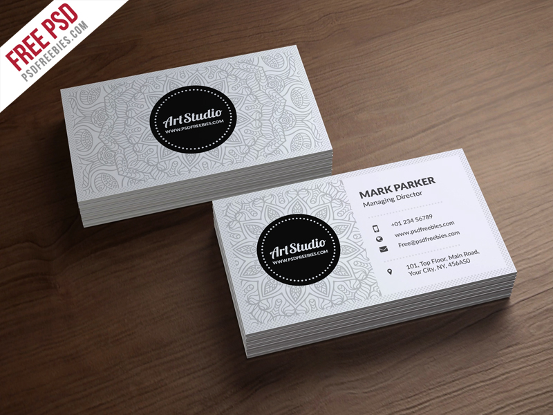 Creative white business card free psd download download psd creative white business card free psd business cardsprint colourmoves