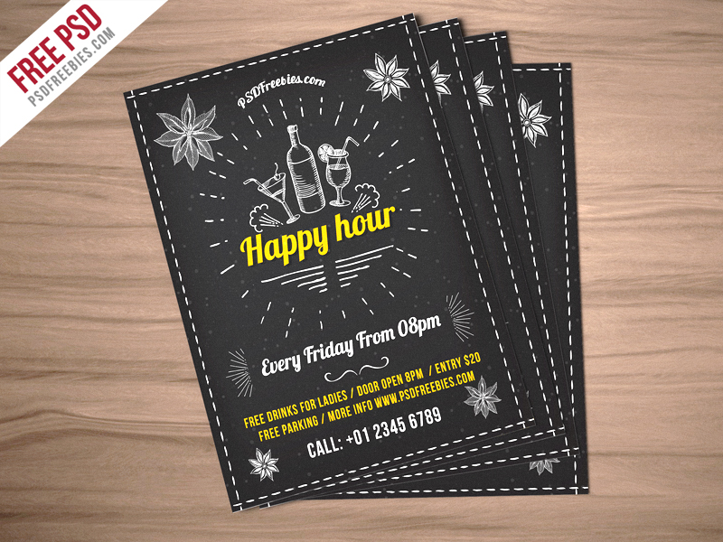 Download PSD  Free Invitation Download