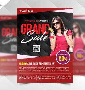 Grand Sale Flyer Template Free PSD women fashion Woman winter sale Template summer sale style and fashion Store Special Offer single Showcase Shop season sale sales sale flyer sale begin Sale retail Red purpose PSD promotions Promotion promote Product print ready Print presentation Flyer Poster Photoshop pamphlet Multipurpose multi-purpose Modern metro design mega fashion Sale marketing magazine ad item Graphic grand sale Fresh Freebie Free PSD Free Flyer fashion sale Fashion Event display Discount deal Colorful Cloths clearence sale campaign Buy business flyer big sells big sale Advertising advertisement advertise ad poster ad