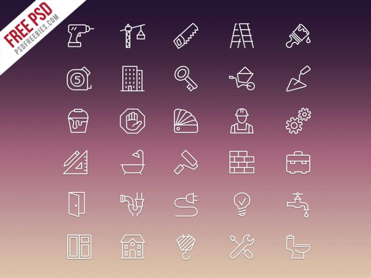 Construction Icons Set Free PSD wrench, worker, window, Water, vector icon set, trowel, tractor, tools, toilet, thin lines, tap, Symbol, supply, spirit levels, skyscraper, sink, Sign, shovel, screwdriver, saw, roulette, roller, roadgrader, repair tolls, renovation, plumber, pliers, pictogram, painter, outline, lifter, Lamp, ladder, labour tools, labour, Key, improvement, illustration, iconset, Icons, Icon, house painter, house, home repair tools, helmet, hardhat, hammer, gear, free psd icon, Free Iconset, flat icons, flat bold icons, Equipment, engineering, electricity, Drop, drill, drain, door, Design, danger symbol, crane, construction tools, construction icons, construction flat icons, construction flat bold icons, construction colored icons, construction bold icons, Construction, colored icons, collection, cement mixer, Bulb, Building, builder, Brush, bricks, bowl, Bolt, Bathroom, bath,