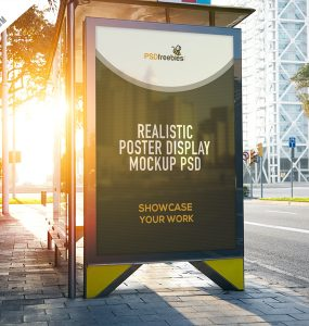 Realistic Poster Display Mockup Free PSD template mockup, Template, street view, Street Stand Mockup, street stand, street mockups, street, Stationary Mockups, smart object, smart, signage, Sign Mockups, Showcase, shelter, reflection, realistic signage, realistic displays, Realistic, real world, real, PSD file, PSD, promotions, promotional, Professional, Product, presentation mockup, presentation, Present, posters, poster mockups, poster mockup, poster mock-ups, poster mock-up, Poster, Photoshop File, Photoshop, photorealistic, Photography, Photograph Mockup, photo realistic mockup, Photo, pack, Outdoor, Objects, multiple options, movie poster mockup, movie poster, Movie, Modern, mockup template, mockup signage, mockup reflection, mockup presentation, mockup poster, mockup photoreal, mockup photo, mockup bundle, mockup banner, mockup artwork, Mockup, mock-up template, mock-up, mock up psd, mock up pack, Mock, mart object, mall poster, logo mockup, Logo, Light, Layered, image mockup, High Resolution, hi-res, hd mockups, HD, great, Graphic, Frame, flyer mockup, flyer mock up, Flyer, display mockup, Display Mock-Ups, display, Design, customize, Customizable, Cool, company, Commercial, Clean, Cinema, business card mockup, Business, bus stop, bus shelter, bus, branding, billboard mockup, Billboard Mock-up, Billboard, banner mockup template, banner mockup, banner mock-up, artwork mockup, artwork, advertising mockup, advertising mock-up,