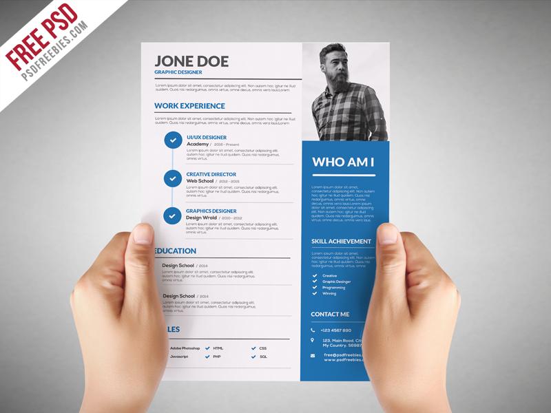 Free design resume templates
