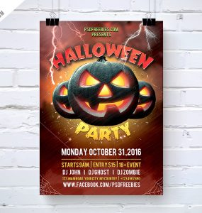 Halloween Party Flyer Template Free PSD zombies, Zombie Party, zombie night, zombie, vampire, trick or treat, trendy, thriller, thanks giving, Template, Scary, ripper, pumpkins, Pumpkin, PSD, Print template, print ready, Print, Poster, Photoshop, party flyer, Party, october, nightclub, night party, Night Club, Night, Multipurpose, invitation, huntedhouse, hunted, hot halloween, horror night, horror Halloween, Horror, Holiday, happy halloween, halloween template, halloween poster, Halloween Party Flyer, halloween party, halloween Night, halloween flyers, halloween flyer template, halloween flyer, halloween event, halloween design, Halloween costume, Halloween celebrations, Halloween carnival, halloween bash, halloween 2016, Halloween, Graphic, ghosts, ghost party, Ghost, Freebie, Free PSD, Forest, flyer template, flyer party, Flyer, evil pumpkin, event flyer, DJ, devil, costume party, Club, celebrations, carnival, Blood, black friday, backgrounds, advertisement,