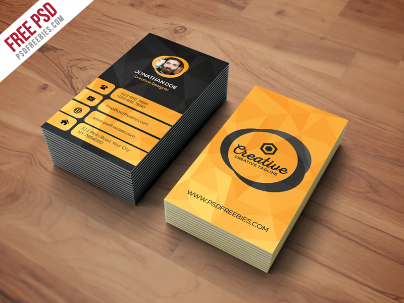Agency business card template free psd download download psd reheart Choice Image