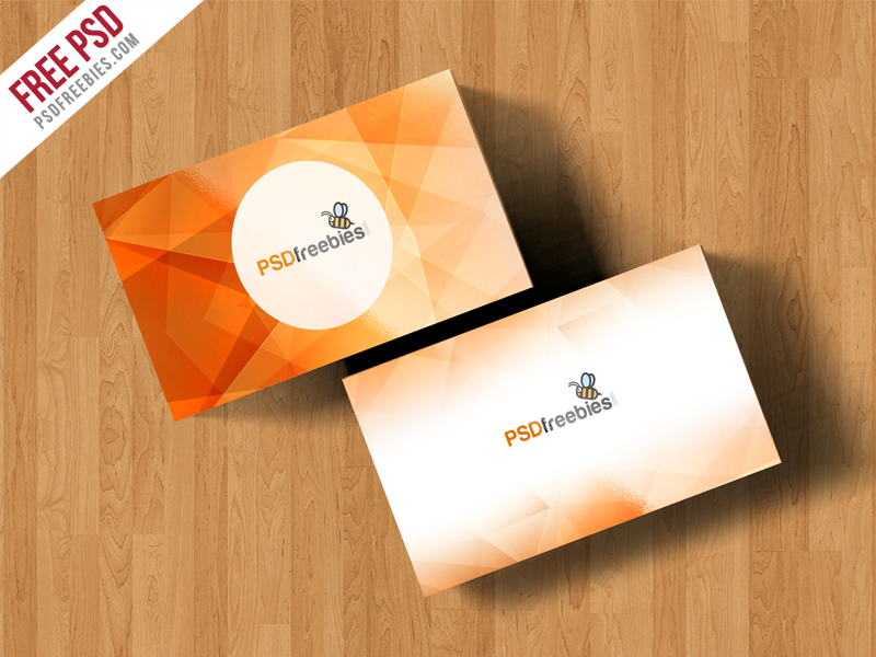 Simple business card mockup free psd download download psd simple business card mockup free psd reheart Images