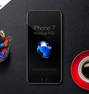 Free iPhone 7 Mockup PSD