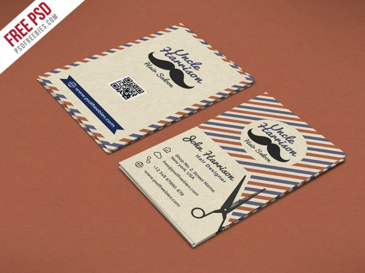 Retro Barber Shop Business Card PSD Template Vintage vertical business card Vector trimmer tools Template Tags symbols Style Stamp signposts Sign Shop shaving shave set Service scissors salon flyer Salon rustic Retro Red qr business card PSD template Promotion Print template Premium poster template Poster pole Pattern Old namecard mustache Modern men marketing Logo label illustration Icon hipster Hat hairdresser haircutting haircut hair salon hair cutting hair cuts hair cut hair grooming groomed Graphics Flyer fashioned fade facials elegant Drawing Design cutting cut cream coupons cosmetics classic gentleman Classic Chalk Card businessman business card psd template Business Card Business Beauty beard barbershop barbering barber shop barber Badge Background Antique Advertising ad