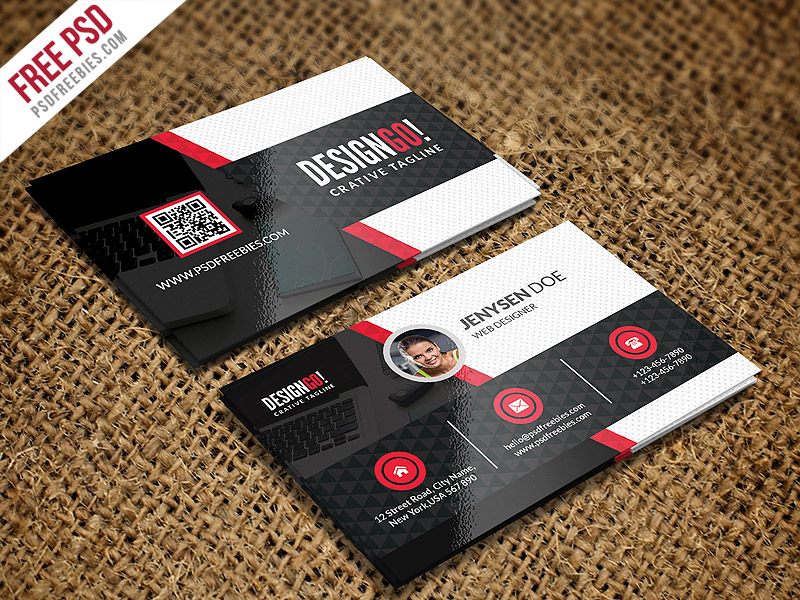 Creative and modern business card template psd download download psd creative and modern business card template psd web designer visiting card unique business card accmission Images