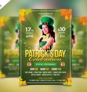 Saint Patrick's Party Flyer PSD Template Template st. patty's day st. Patricks flyer St. Patricks Day Flyer st. patricks St. patrick's party St. Patrick's Day Party st. patrick St. Paddy's party st patricks day banner st patrick's day st patrick day invitation st patrick day celebration st patrick day san patricio saint patricks flyer Saint Patricks Day Saint Patrick's saint patrick saint party saint paddys saint pub PSD Print template Print pot of gold coins pot of gold poster template Poster postcard patricks party patricks flyer patricks day poster patricks day banner patricks day ads patricks day patrick's patrick day invitation patrick day card patrick party night party flyer Party nightclub night party Music Money lucky charms lucky charm lucky luck Irish party irish ireland invitation card invitation Holidays green day green clover Green gold pot Gold glow party Free Saint Patrick Flyer Free PSD free flyer flyer template Flyer festival fest event celebration Event drinks party drinking Drink DJ Design day Creative coins Coin Club charm Celebration Birthday beer fest Beer Bar