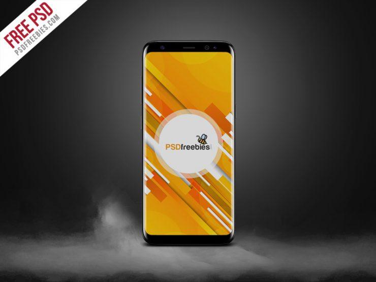 Samsung Galaxy S8 Mockup PSD