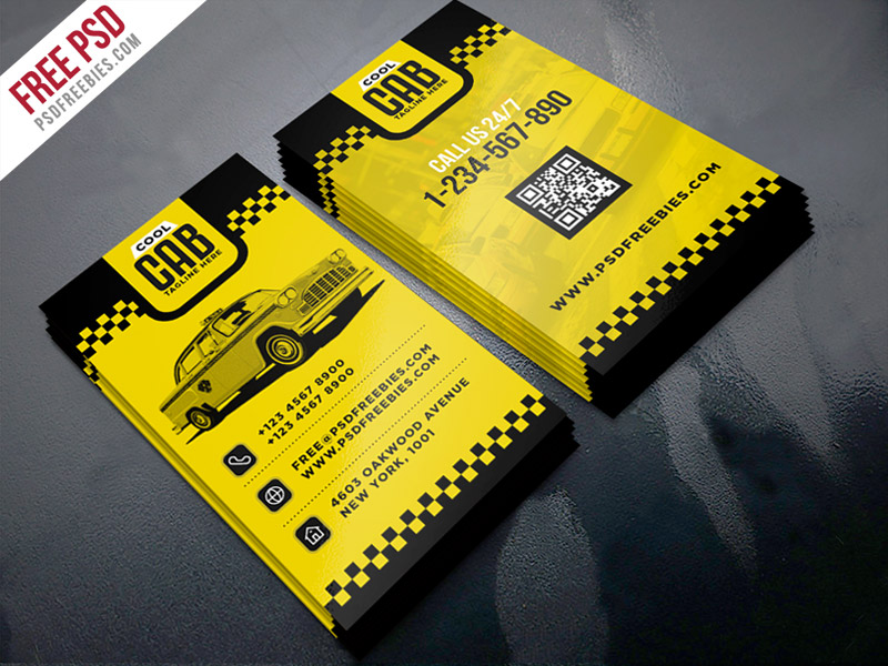 Taxi cab service business card template psd download download psd taxi cab service business card template psd wajeb Choice Image