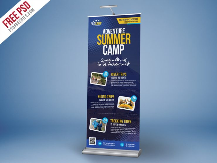 Adventure Summer Camp Roll-Up Banner PSD Template vacation trip trek travel agency Travel tourism tour package tour operator tour booking tour agency tour & travel tour Template Summer street standy template Standy PSD standy stand display stand Sports sporting snowboarding Snow Skateboard Simple Signboard Service Safari Rollup Freebie Rollup Banner PSD rollup banner rollup roll-up banner roll up simple banner roll up banners roll up road banner reservation Rafting racing PSD template psd flyer PSD promotional Promotion Professional Print template print ready Print premium flyer Poster perfect Park parasailing outdoors Outdoor night party Nature music roll up multipurpose roll up Multipurpose multi-function mountain ride mountain biking mountain motocross Modern marketing lifestyle invitation card invitation hunting Holidays Holiday hiking hike Graphic Freebie Free Rollup PSD Free PSD Free explore world explore journey explore banner ads explore Event elegant Download designer cycling banner cycling customize creative banner Commercial CMYK psd cmyk climbing climber climb camping banner camping ads camping camp business Rollup banner business roll up business banner Business booking Billboard Template banner template banner roll-up Banner Background announcement Advertising advertisement advertise Advert adventure vacation adventure trip adventure tourist adventure journey adventure ads ad active 70x30