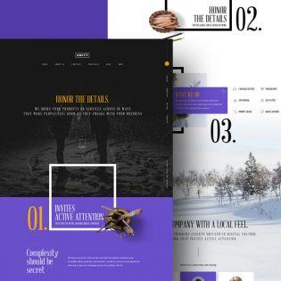 Creative Personal Portfolio Free PSD Theme