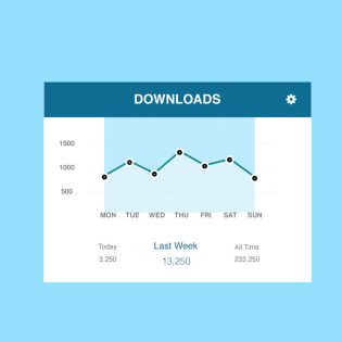 Download manager Free PSD