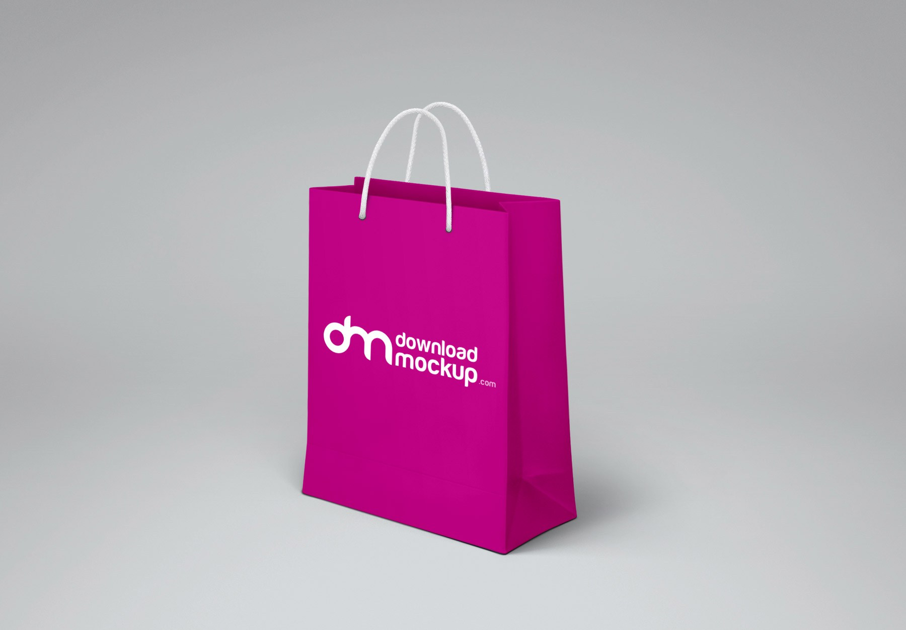 shopping paper bag design mockup free psd download psd
