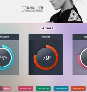 Website UI Components Free PSD
