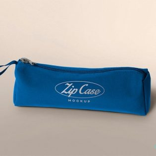 Pencil Case Mockup Free PSD