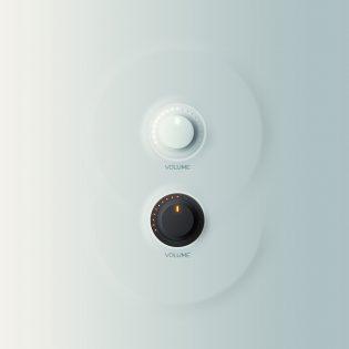Minimalist Volume Control knobs Free PSD