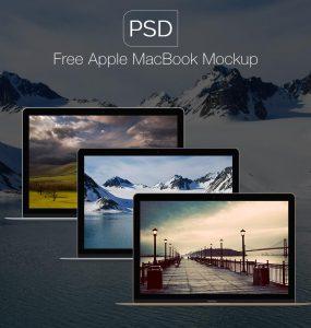 Apple Macbook Mockups Free PSD Showcase, PSD Mockups, psd mockup, psd freebie, presentation, photorealistic, multi screened, mockups, mockup template, mockup psd, Mockup, mock-up, Macbook, Free PSD, free mockup, Free, Flat, download mockup, Download, design holder, customize, branding, Apple,
