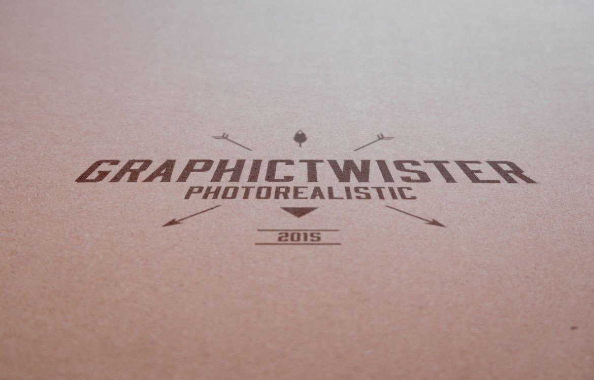 paper logo mockup free psd download - download psd, Powerpoint templates