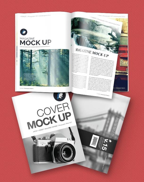 magazine layout templates free